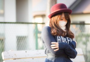 風邪対策にマスクで予防