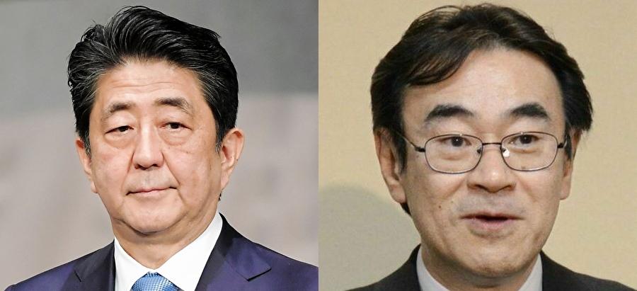 安倍首相と黒川氏
