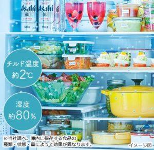 日立冷蔵庫のまるごとチルド