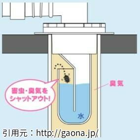 排水口トラップ